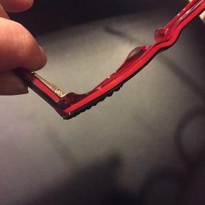 20e13be928f Menizzi Accessories - Red Cateye Glasses by Menizzi